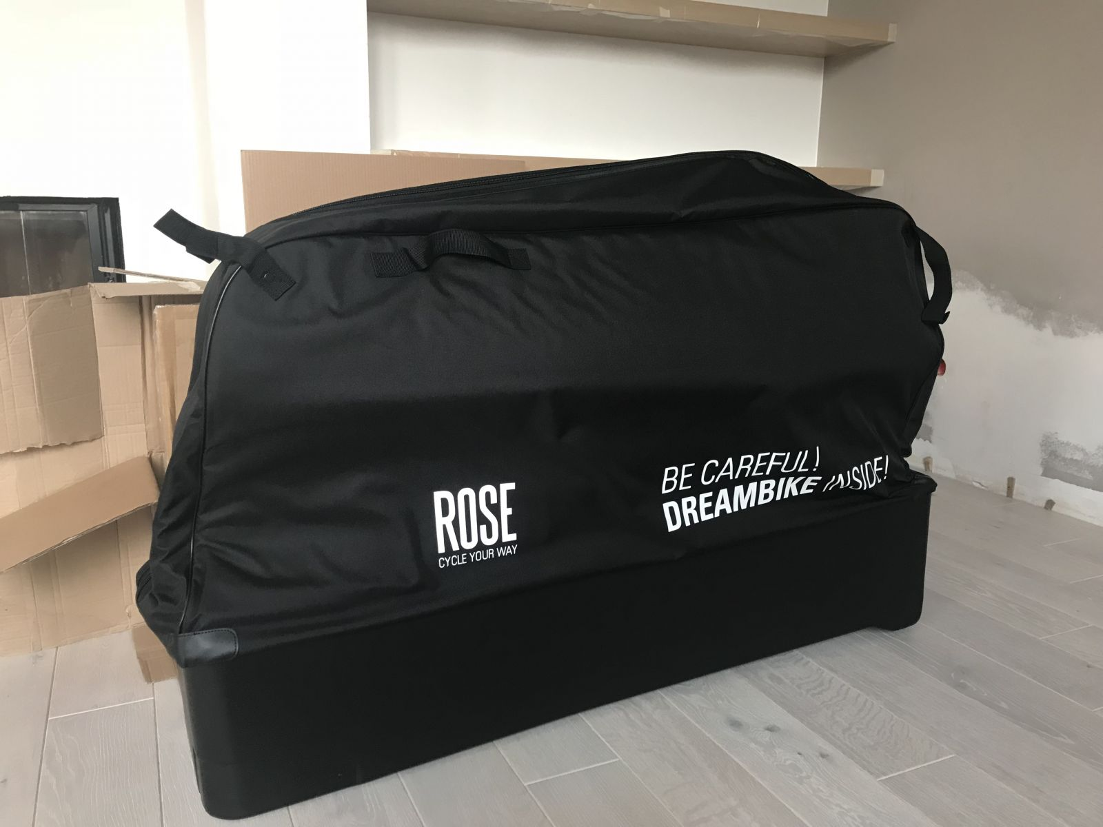Flight bike bag