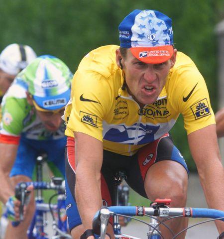 Lance Armstrong w Tour de France