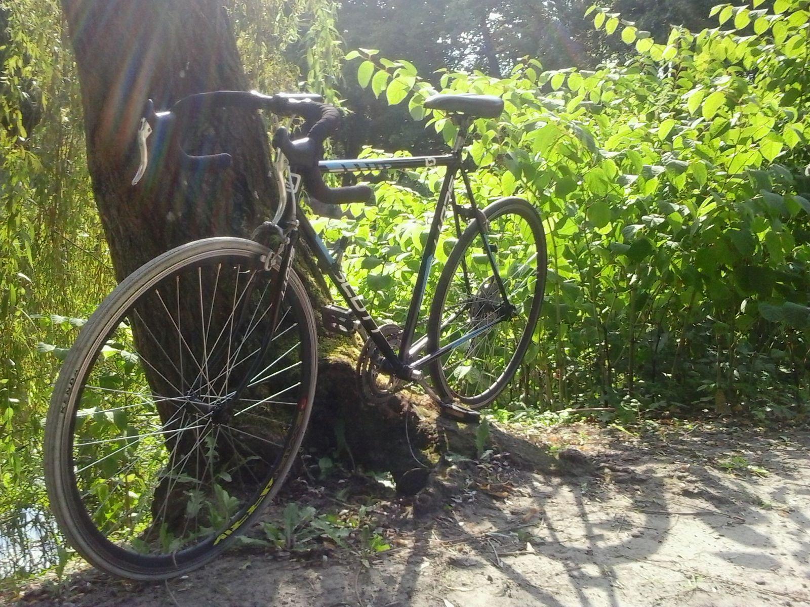 Mój rowerek po renowacji :)