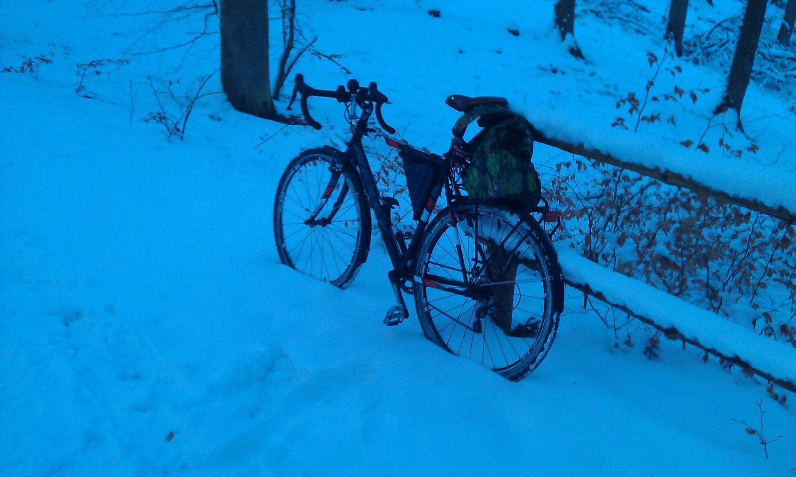 RIdley X-bow zimą 3.