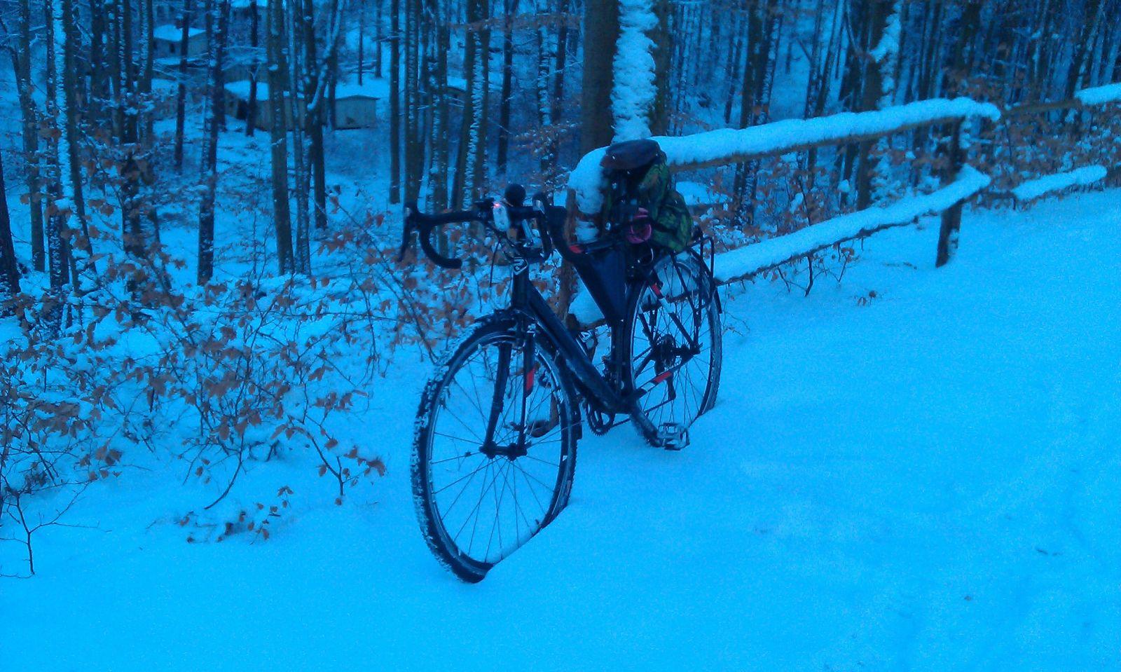 RIdley X-bow zimą 4.