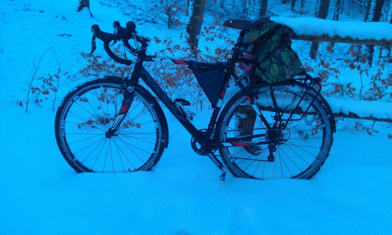 RIdley X-bow zimą 2.